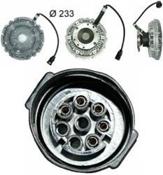 Сцепление виско DAF CF85 98-13r Fi260 електр.Nissen