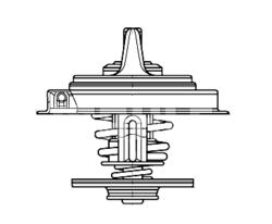 Термостат 75C Fi67 DAF,IV.,SC