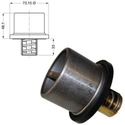 Термостат 75C Fi73 VO.F/FL,DAF
