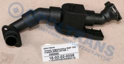 Клапан радиатор печки DAF 75CF,85CF,95XF,XF105 =