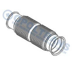 Труба випуск.DAF CF/XF106 начальн. 13r- Fi116 Dinex