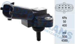 Датчик давленияподачи DAF XF95/105 01-13r FAE