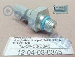 Датчик давлениятоплив.DAF XF106 13r- OE
