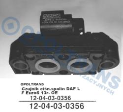 Датчик давленияотработанных газов DAF LF Euro6 13r- OE