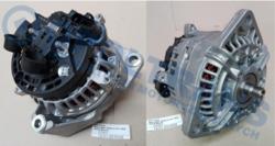 Генератор.DAF XF95 01-07r,CF75/85 -08r 80A новый Bosch