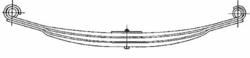 Рессора DAF 2x80/865x865 перед 85CF/95XF -02r