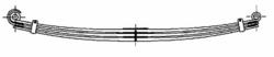 Рессора DAF 2x80/900x900 перед XF95/105 02r-
