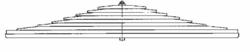 Рессора DAF 6x 90/780x780 зад. CF -06r тандем