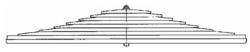 Рессора DAF 6x 90/815x815 зад. CF85 тандем