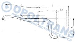 Рессора DAF 1x75/565x510 tyl LF45 01-16r- під под.