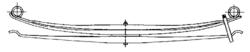 Рессора DAF 3x90/950x950 зад. LF55/CF65 01r-