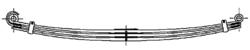 Рессора DAF 2x80/900x900 перед XF95/105