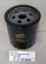 Фильтр маслян.маслян.Toyota Dyna 150,Hilux 2/3, WIX