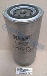 Фильтр топлив.DAF 95XF -02r,IV.E-Tech H18WK04 Hengst =