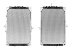 Радиатор води DAF XF95XF 97-06r к-т Highway
